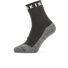 Sealskinz Waterproof Warm Weather Soft Touch Ankle Socks Black/Grey Marl/White
